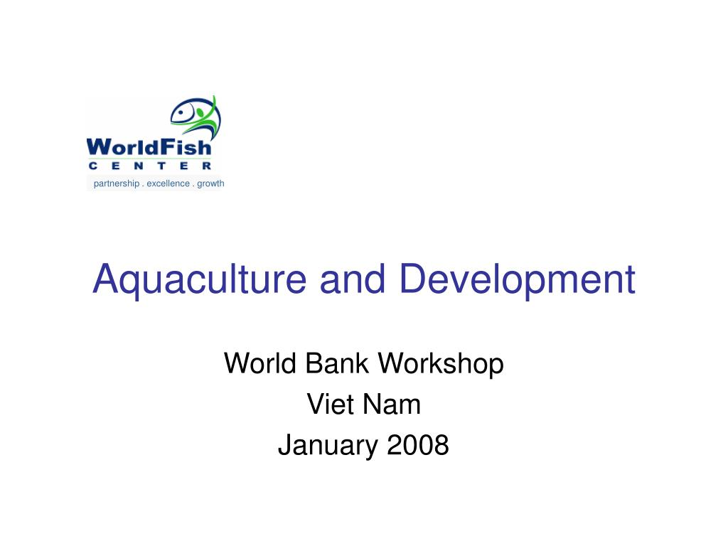 aquaculture and development l.