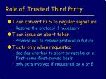 role of trusted third party1