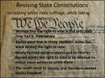 revising state constitutions