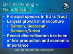 eu fish farming major species