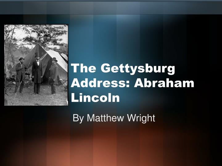the gettysburg address abraham lincoln n.