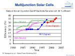 multijunction solar cells