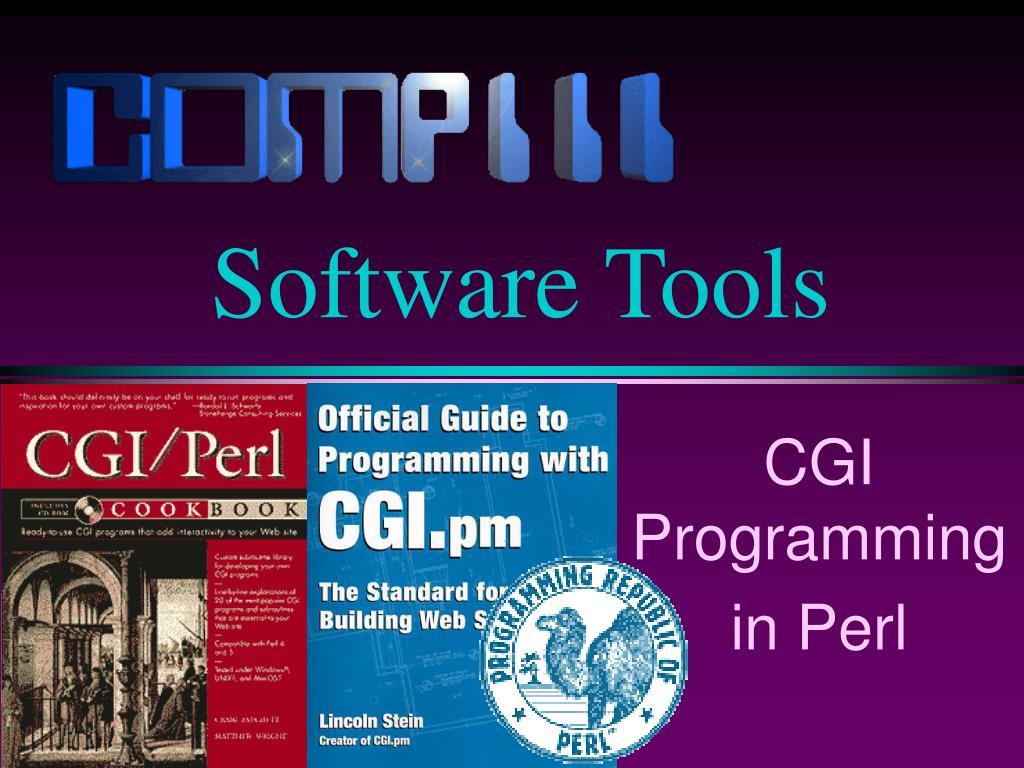cgi programming in perl l.