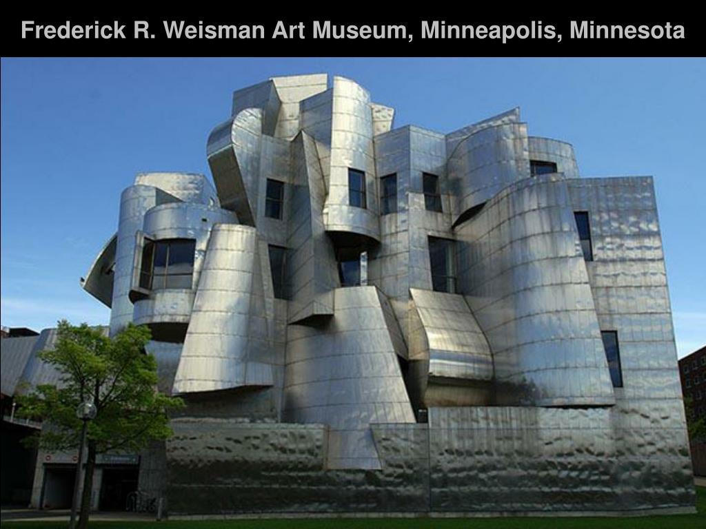 Frederick R. Weisman Art Museum, Minneapolis, Minnesota