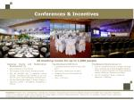 conferences incentives