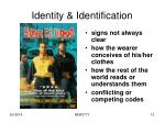 identity identification