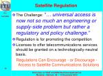satellite regulation