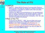 the role of itu