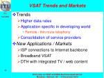 vsat trends and markets