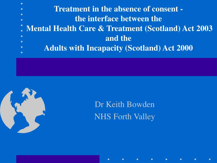 dr keith bowden nhs forth valley n.