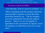 treatment in the absence of consent the interface between the mhctsa the awisa3