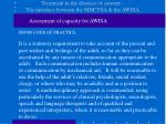 treatment in the absence of consent the interface between the mhctsa the awisa5