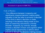 treatment in the absence of consent the interface between the mhctsa the awisa8