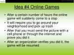 idea 4 online games