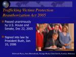 trafficking victims protection reauthorization act 2005