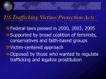 us trafficking victims protection acts