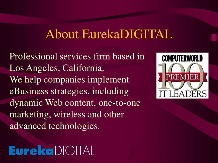 About eurekadigital
