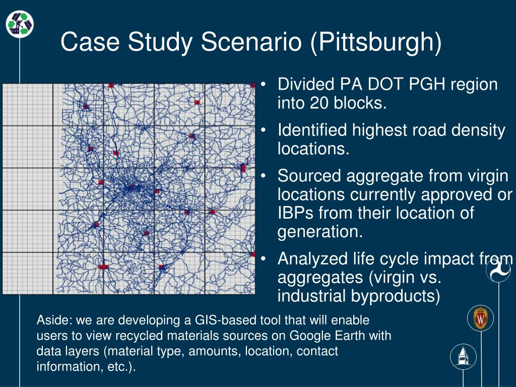 Case Study Scenario (Pittsburgh)