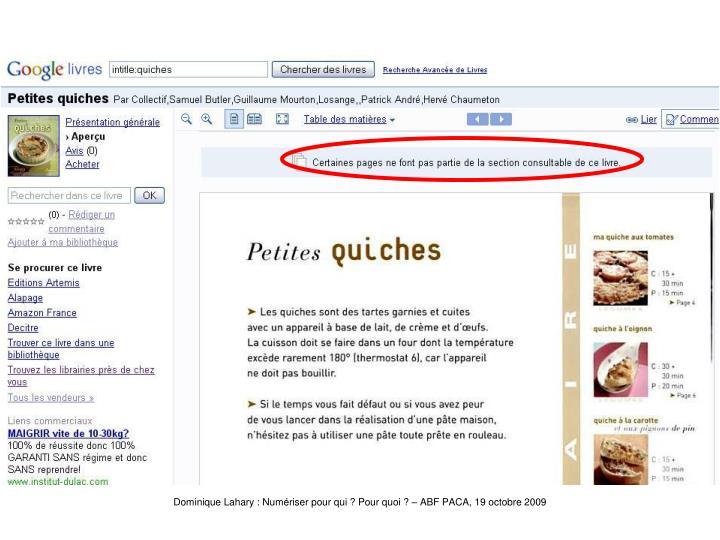 Google-Quiche