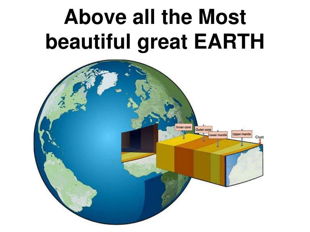 Above all the Most beautiful great EARTH