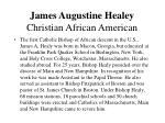 james augustine healey christian african american