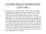 nannie helen burroughs 1879 1961