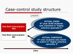 case control study structure