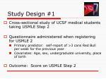study design 1
