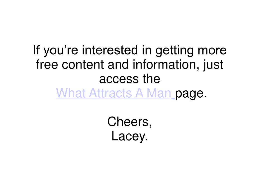 If you're interested in getting more free content and information, just access the