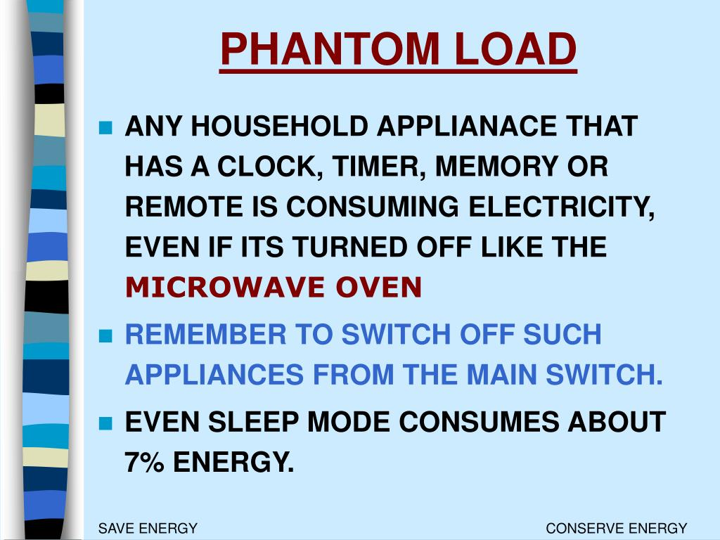 PHANTOM LOAD