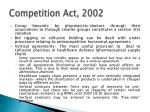 competition act 20023