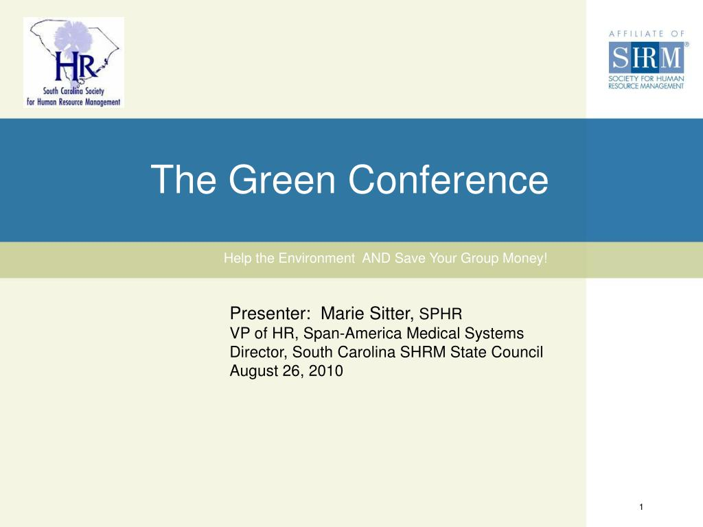 the green conference l.
