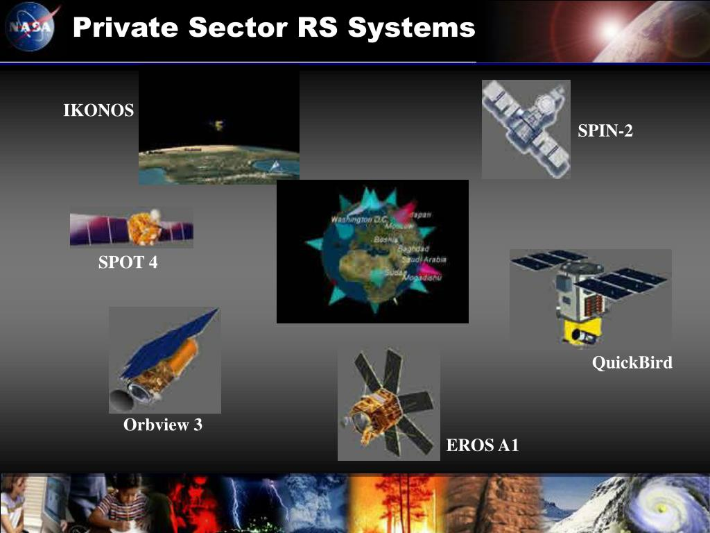 Private Sector RS Systems
