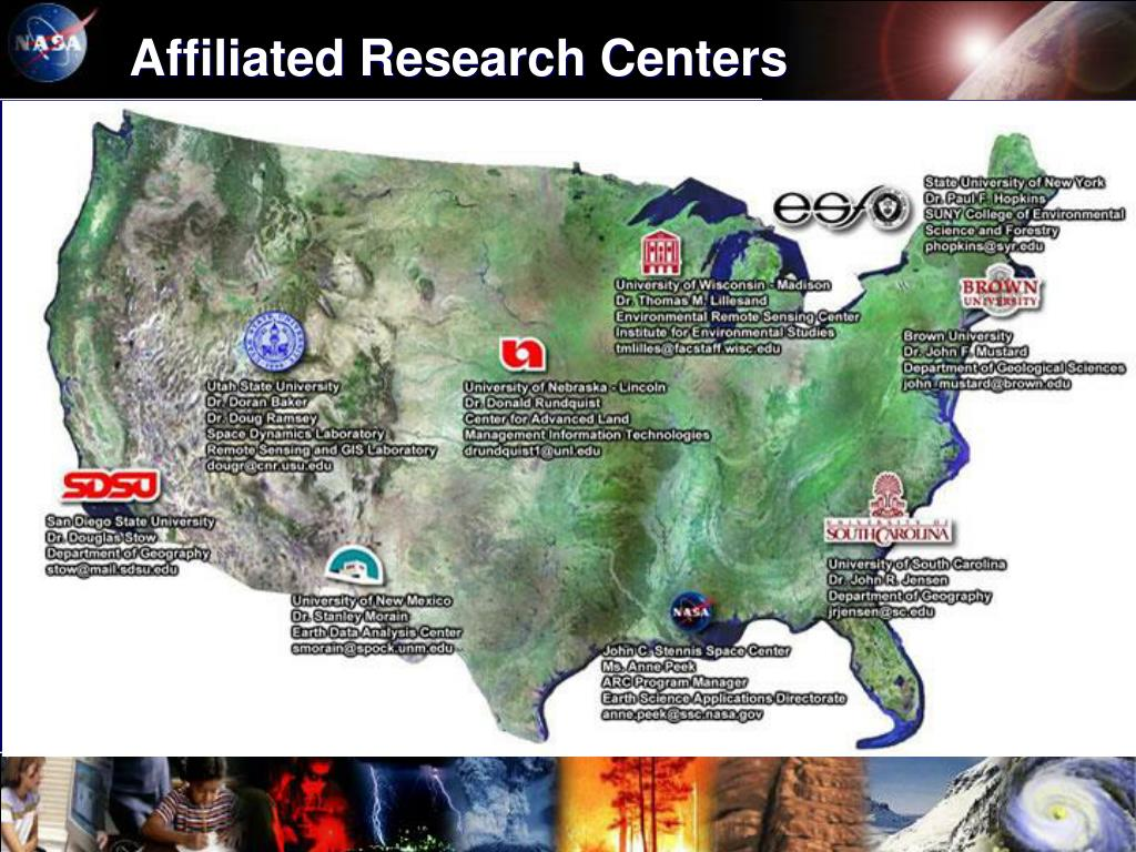 Affiliated Research Centers
