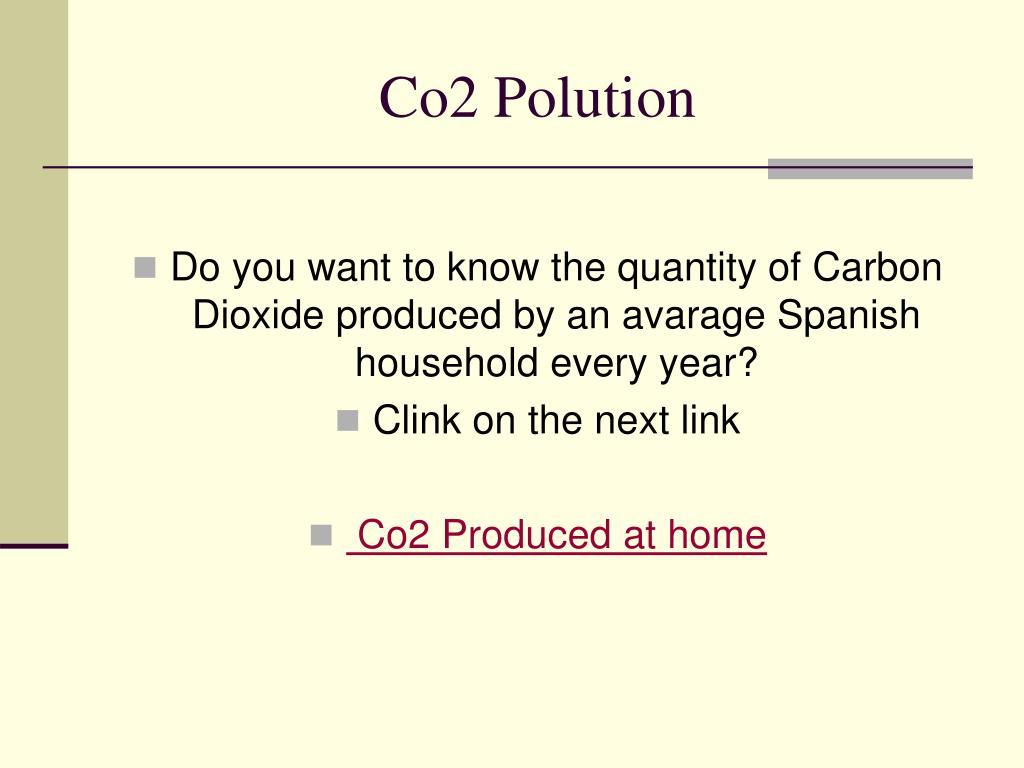 Co2 Polution