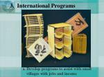 3 international programs26