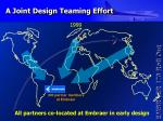 a joint design teaming effort