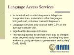 language access services