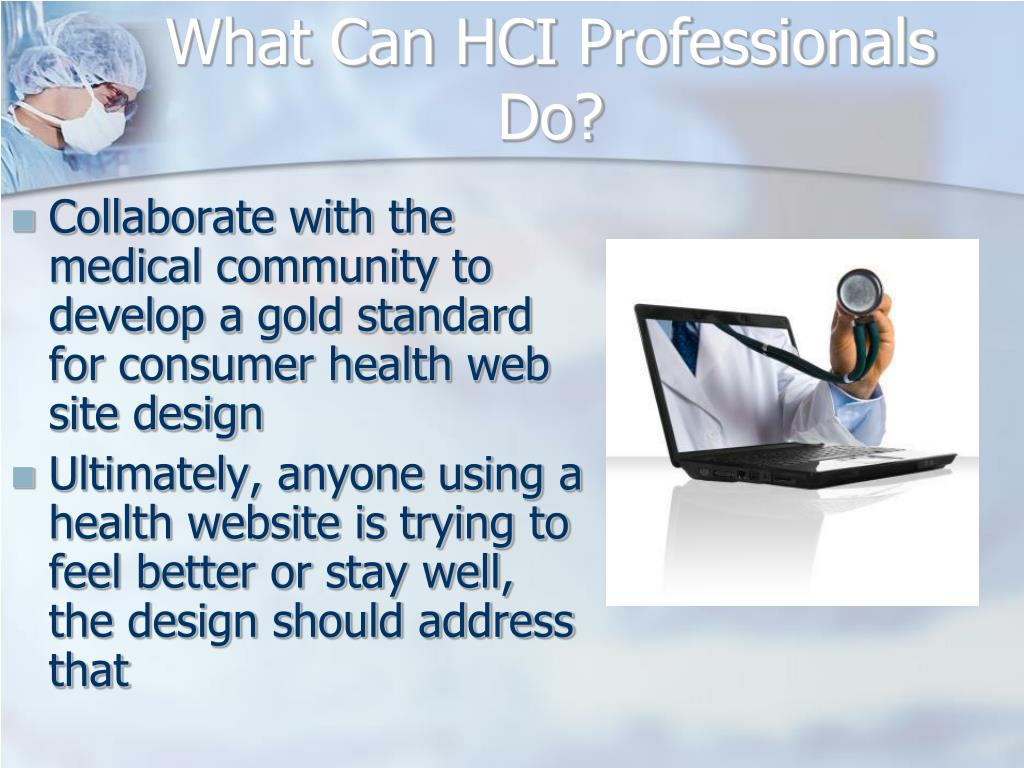 What Can HCI Professionals Do?