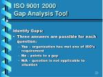 iso 9001 2000 gap analysis tool2