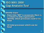 iso 9001 2000 gap analysis tool3