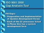 iso 9001 2000 gap analysis tool4