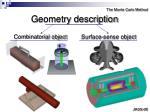 geometry description
