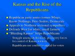 kansas and the rise of the republicans