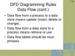 dfd diagramming rules data flow cont1