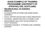 good example of training programme university of strathclyde scotland1