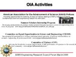 oia activities