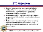 stc objectives1