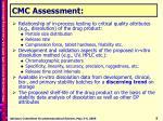 cmc assessment1