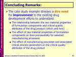 concluding remarks2